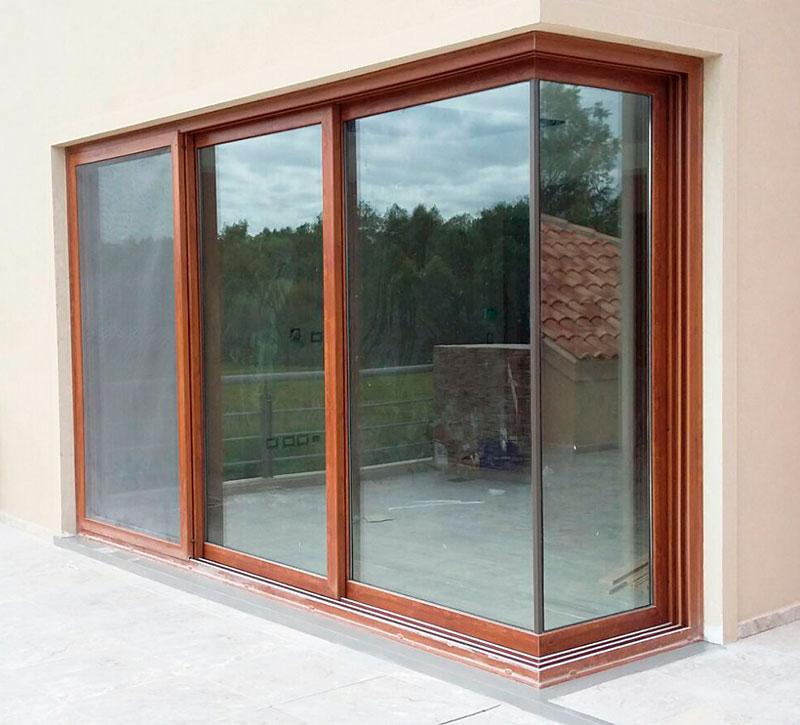 Aberturas de pvc dal aluminio for Aberturas pvc simil madera precios